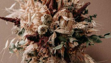 Trockenblumenbrautstrauß29