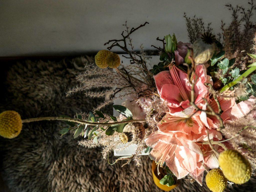 Winter/Frühlings Brautstrauß